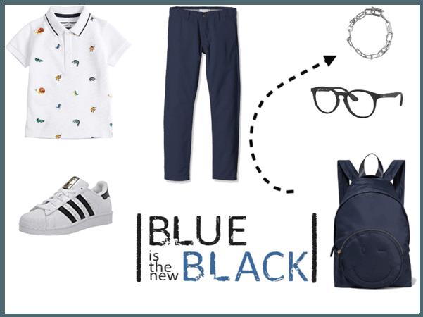 navy blue boy