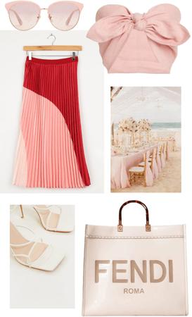 beachin' in pink