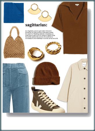 brown sagittarius