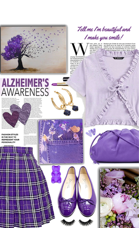 Alzheimer's Awareness in Purple - Dress for a Cause