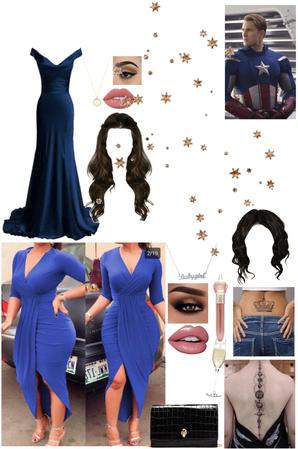 Elegant CaptainAmerica Blue