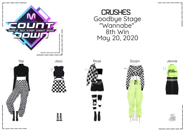 """Crushes (호감) """"Wannabe"""" Goodbye Stage 8th Win"""