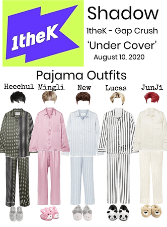 Shadow 'Under Cover' 1theK - Gap Crush Pajama Outfits