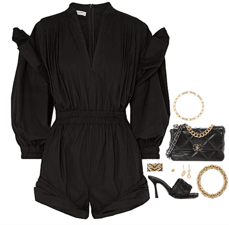 black and gold CC