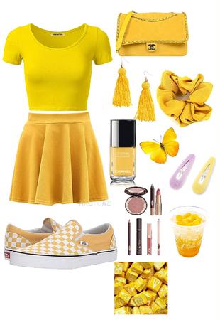 yellow the colour of sun