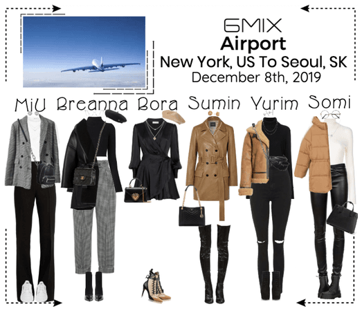 《6mix》Airport | New York, US To Seoul, SK