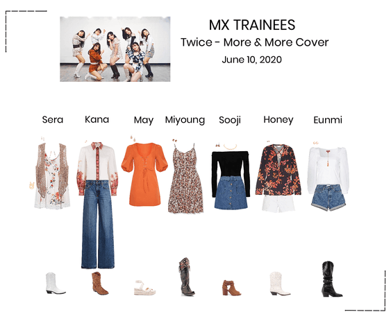 MX TRAINEES - Twice 'More & More' Cover