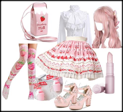 Strawberry Dreams Lolita