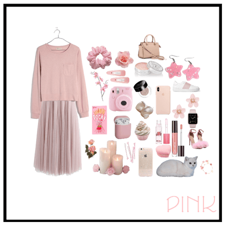 -Pink collage-