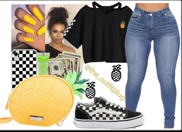 pop of pineapple!🍍