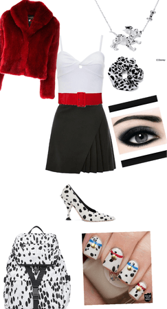 cruellas daughter school outfit