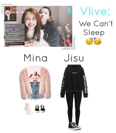 {MARIONETTE} Mina & Jisu's V Live