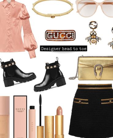 Designer head to toe Gucci