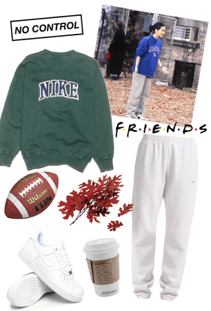 look inspired by Monica during the football episode