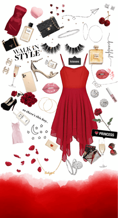 Valentine's Day outfit ideas board
