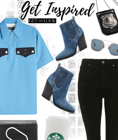 Police Inspired Everyday Look