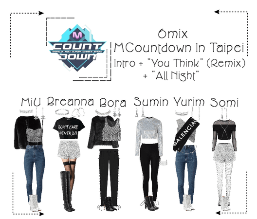 《6mix》MCountdown In Taipei