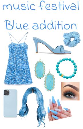 Music Festival (Blue addition)