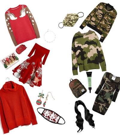 Christmas and camouflage
