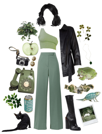 monochrome - green