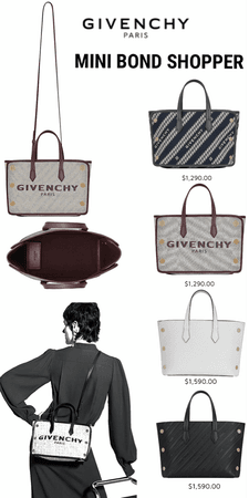 Givenchy- Mini Bond Bag