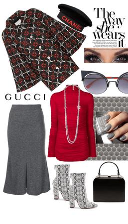 Way she wears it - Gucci & Chanel