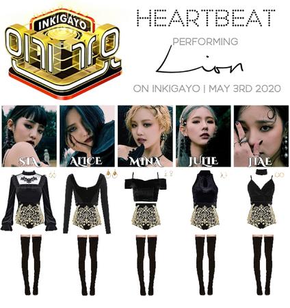 [HEARTBEAT] 200503 INKIGAYO STAGE | 'LION'