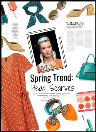 Spring Trend: Head Scarves