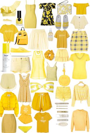 Yellow 🐥🐝🌼☀️🍌🍋