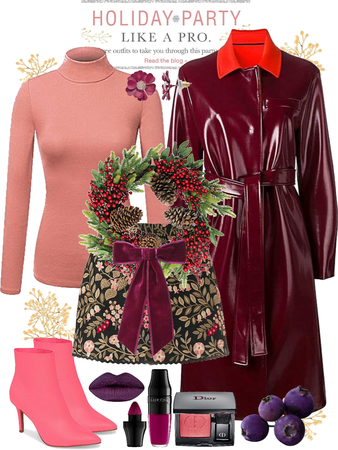 Deep Berry Tones for Holiday Parties