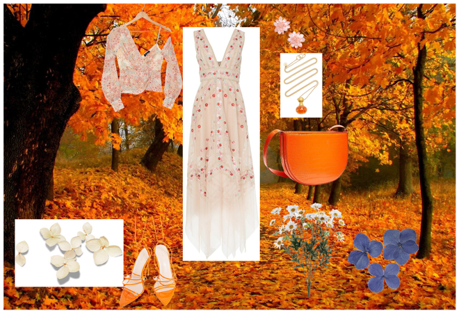 Summers autumn touch