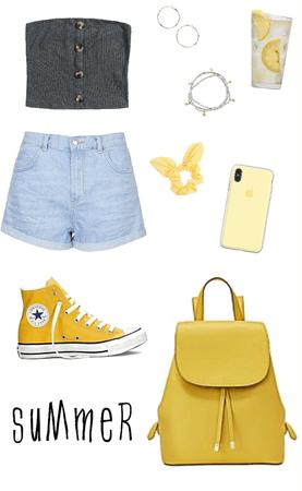 Denim Shorts Style