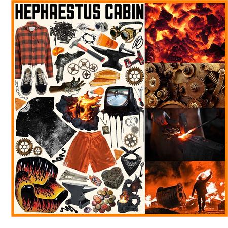 CAMP HALFBLOOD: Hephaestus Cabin