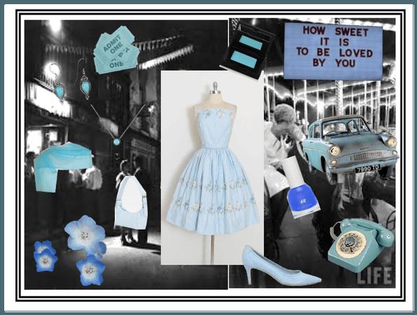 Betty Blue (A 50s prom idea)