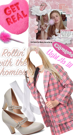 Pink Clueless Outfit