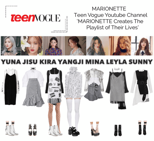 MARIONETTE (마리오네트) Teen Vogue YouTube Channel | 'MARIONETTE Creates The Playlist of Their Lives'