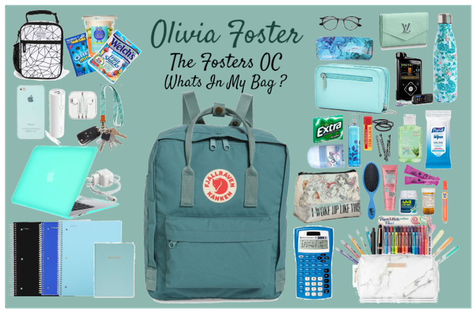 olivia foster- whats in my bag