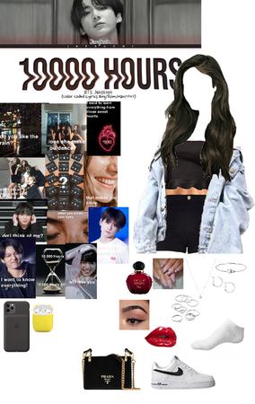 "BTS Jungkook ""10000 Hours (Cover)"" Lyrics"