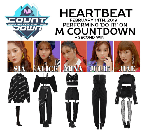 [HEARTBEAT] 'DO IT!' M COUNTDOWN STAGE