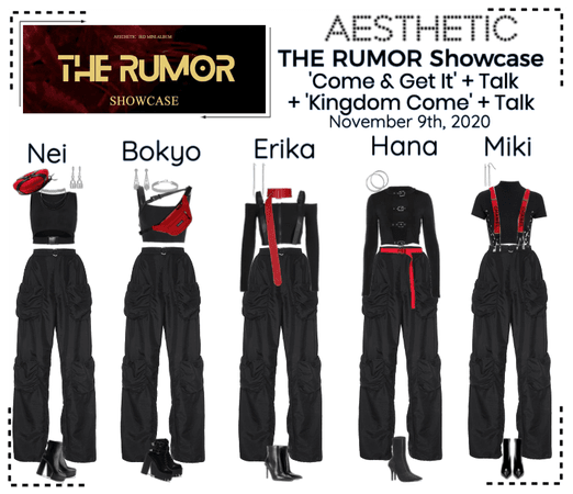 AESTHETIC (미적) 'THE RUMOR' Showcase