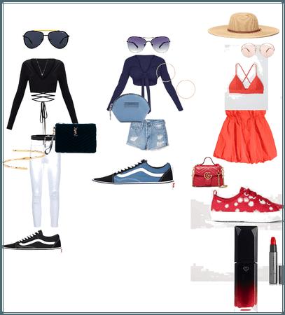 monochromatic color scheme outfits
