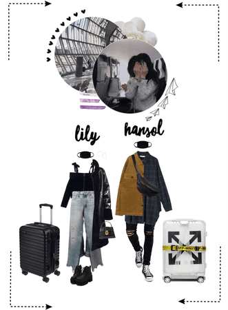 〖Lily&Hansol〗 Traveling To Seoul