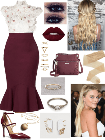Margot Forbes-Salvatore Inspired Outfit