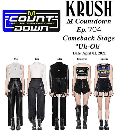 "KRUSH M Countdown Comeback Stage ""Uh-Oh"""