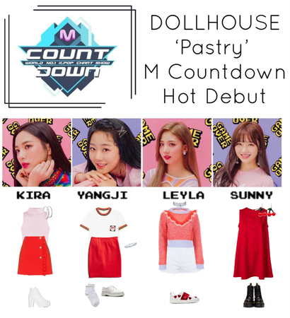 {DOLLHOUSE} M Countdown 'Pastry' Hot Debut Stage