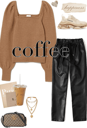 coffee inspired look ☕️