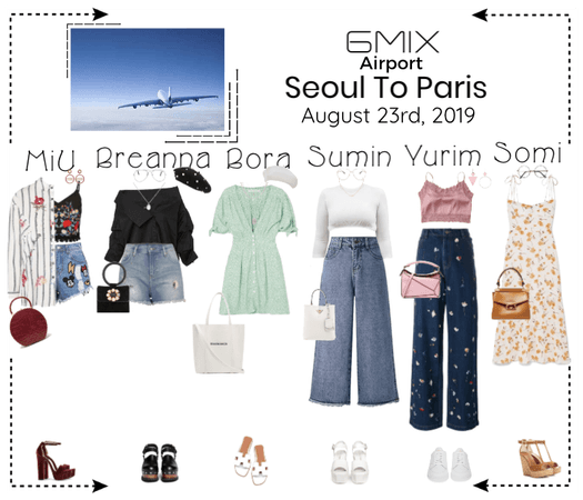 《6mix》Airport | Seoul To Paris