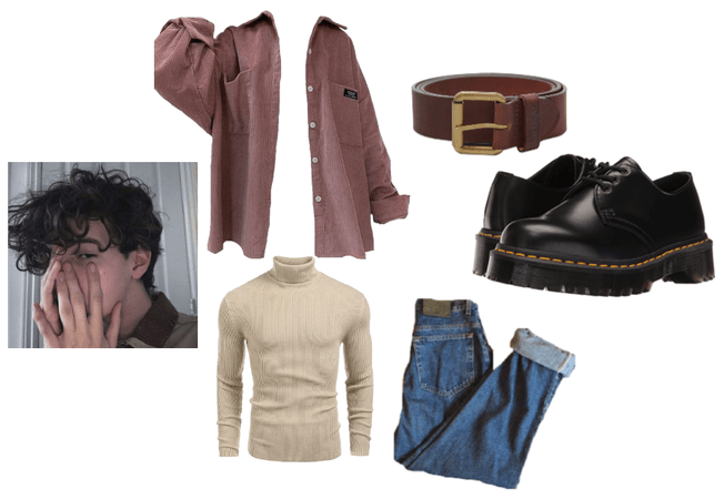 Casual Autumn Guy Outfit