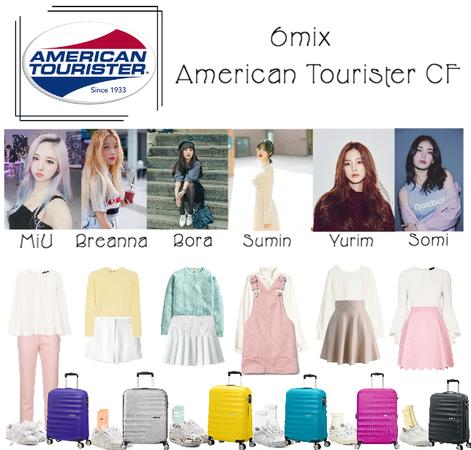 《6mix》American Tourister CF