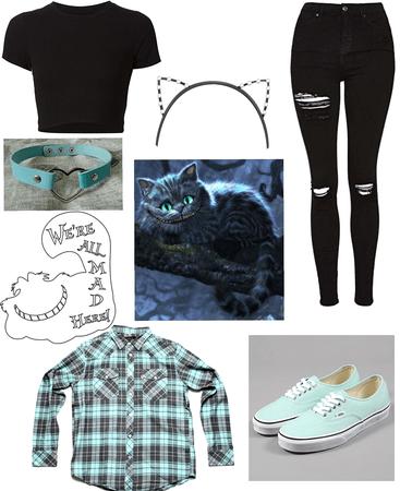 Cheshire Cat DisneyBound